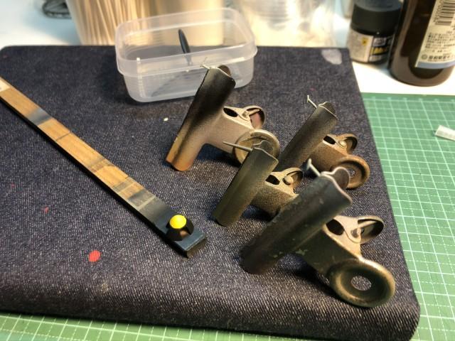<Bf109 T-2 製作記> 小物の整形