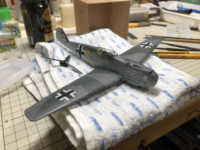 <Bf109 T-2 製作記> ひょっとすると完成するかも