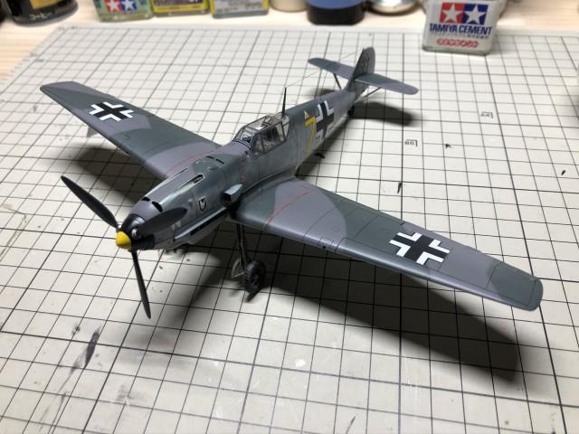 <Bf109 T-2 製作記> 一応完成