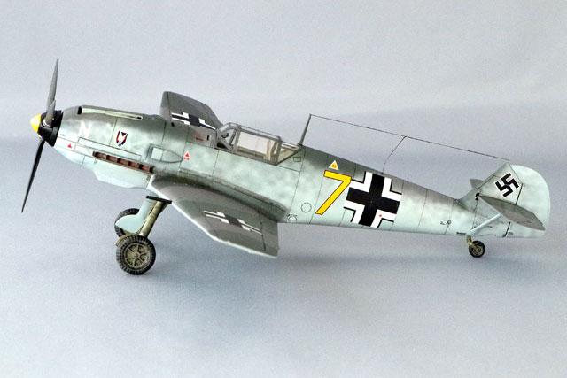 <Bf109 T-2 製作記> 完成(1)