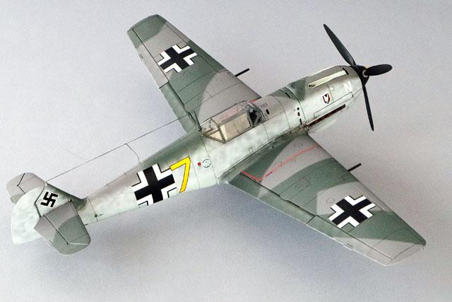 <Bf109 T-2 製作記> 完成(2)