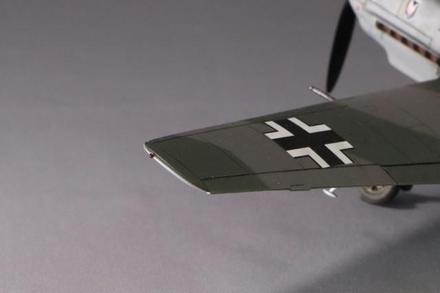 <Bf109 T-2 製作記> 翼端灯