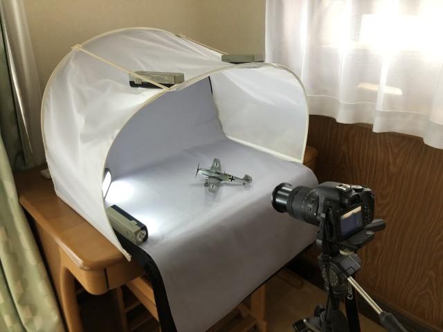 <Bf109 T-2 製作記> 撮影セット