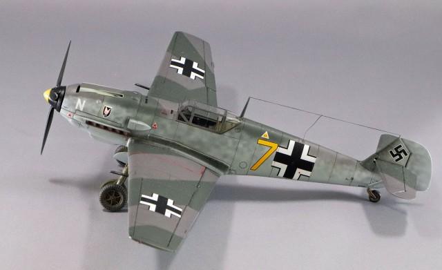 <Bf109 T-2 製作記> 最終撮影