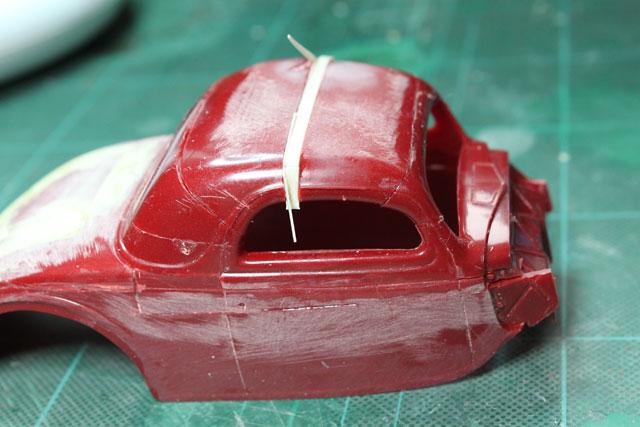 <1936 Ford Coupe 製作記> 再接着
